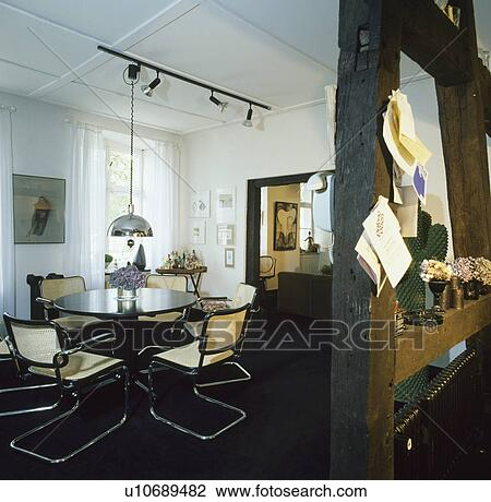 Fine Marcel Breuer Dining Chairs In Dining Room With Chrome Pdpeps Interior Chair Design Pdpepsorg
