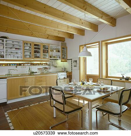 Enjoyable Marcel Breuer Dining Chairs In Modern German Kitchen Pdpeps Interior Chair Design Pdpepsorg