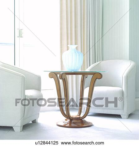 Miraculous White Tub Chairs And Thirties Style Table In Modern Living Ibusinesslaw Wood Chair Design Ideas Ibusinesslaworg