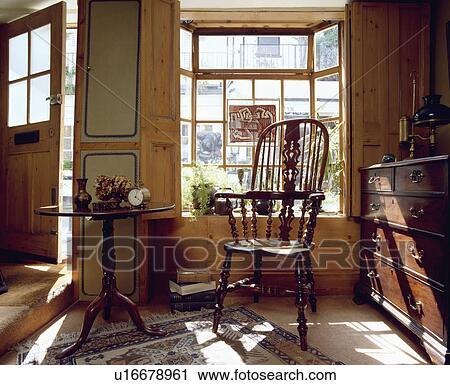 Banques De Photographies Antiquite Windsor Chaise Et