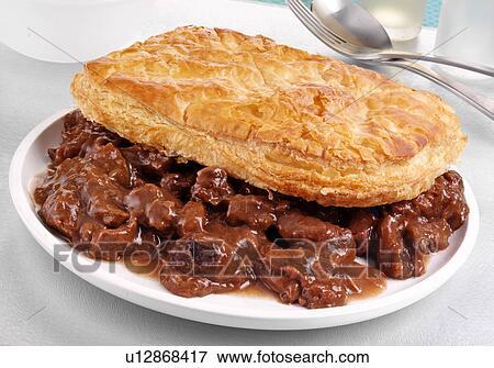 Scottish Steak Pie Stock Photo   u12868417   Fotosearch