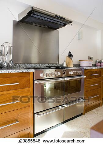 Stainless Steel Range Oven And