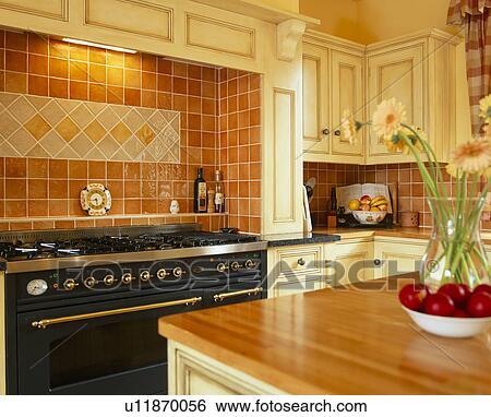 Bonito Pared De La Cocina Roja Azulejos Reino Unido Motivo - Ideas ...