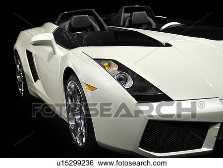 stock images of lamborghini super car 2005 concept s closeup