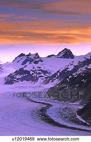 Monterblanc Canada banque de photographies - saumon, glacier, canada's, 5ème, plus
