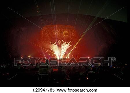 stock image of fireworks stone mountain georgia s stone mountain