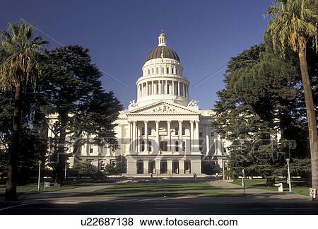 State Capitol, Sacramento, State House, California,