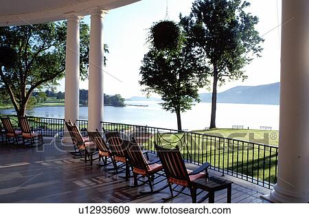 Incredible Resort Rocking Chairs Cooperstown New York Rocking Ibusinesslaw Wood Chair Design Ideas Ibusinesslaworg