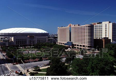 Stock Photography Of Stadium Hotel Indianapolis In Indiana Rca
