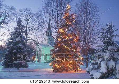 Christmas Tree Church Chapel