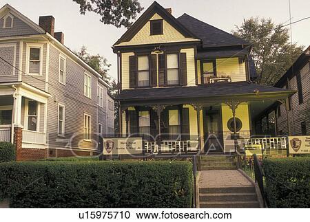 Stock Photography Of Mlk Atlanta Ga Georgia Sweet Auburn Auburn