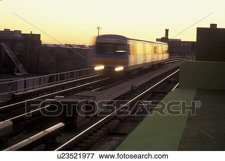 Picture Of Train Mass Transit Atlanta Ga Georgia Marta Train