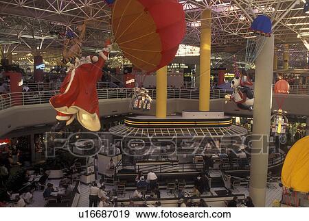 Stock Photograph Of Atlanta Ga Georgia Lenox Square Mall
