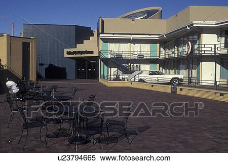 Stock Image Of Memphis Tn Tennessee The Lorraine Motel At The
