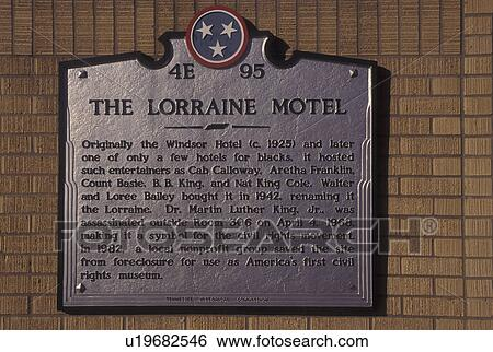 Stock Images Of Memphis Tn Tennessee The Lorraine Motel At The