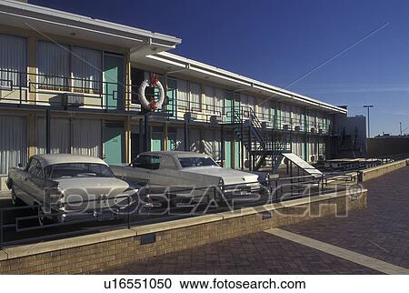 Stock Photography Of Memphis Tn Tennessee The Lorraine Motel At