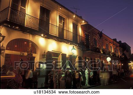 Stock Photo Of New Orleans La Louisiana French Quarter