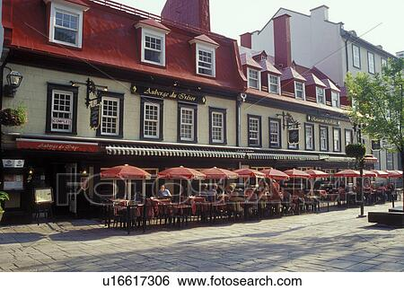 Stock Images Of Quebec City Canada Quebec Outdoor Cafts And