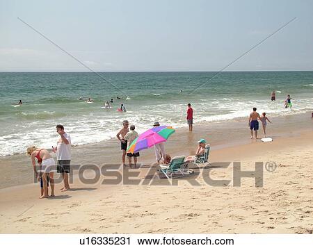East Hampton Ny New York Long Island Atlantic Ocean East