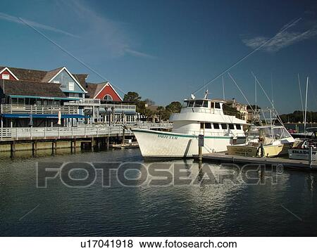 Hilton Head Island Sc South Carolina Sea Pines Beach Marina Village