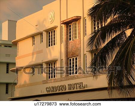 Miami Beach South Fl Florida Ocean Drive American Riviera Art Deco District Cardozo Hotel