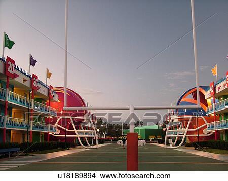 Stock Photo Of Orlando Fl Florida Lake Buena Vista Disney S All