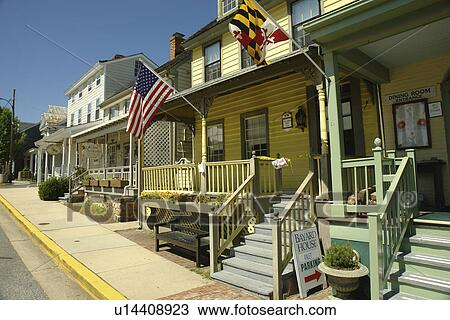 Chesapeake City Md Maryland Bay Historic Village Bayard House Restaurant