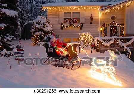 Stock Afbeeldingen - montpelier, vt, vermont, kerst decoraties ...