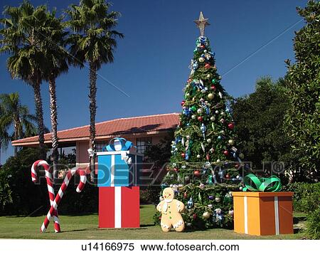 orlando fl florida orange lake resort christmas decorations