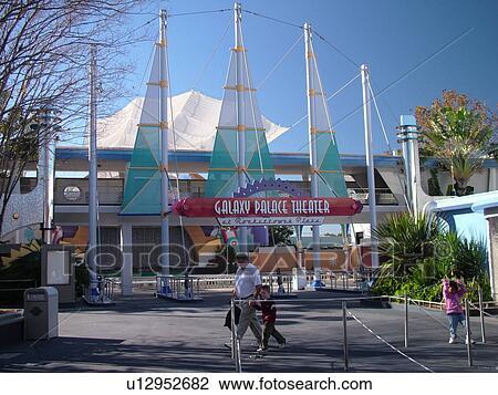 Stock Photo Of Orlando Fl Florida Walt Disney World Resort Magic