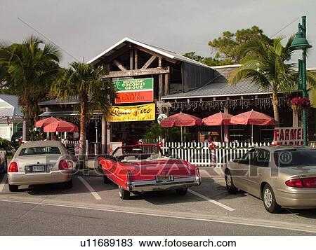 Venice, FL, Florida, Englewood, Coconut Grove Restaurant ...