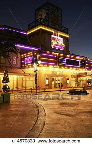Myrtle Beach Sc South Carolina The Grand Strand Broadway At Imax Discovery Theater Evening