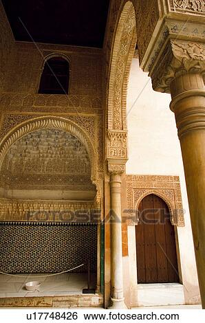 stock images of spain andalusia andalucia granada moorish