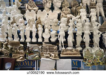 Stock Photography of Roman souvenirs in Rome, Italy. u10052190 ...