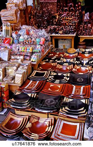 Stock Images Of Handicrafts On Sale In Bali Indonesia U17641876