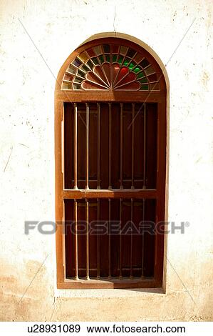 Stock Photograph Of Entrance Country Door Sharjah Uae Gate