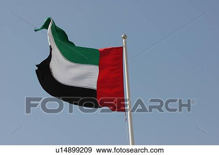 595d119bb7c Dubai, uae, σημαία Αποθήκη Φωτογραφίας | u14899209 | Fotosearch