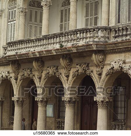 Stock Image of Stone columns of ornate building u15680365 ...