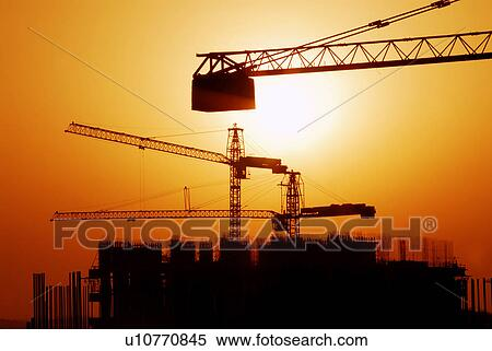 Sunset Building Dubai Sunset Sunrise Rise Dubai