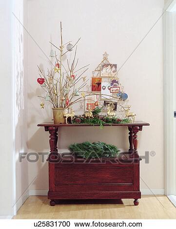 Stock Fotografie   Wand, Blumentopf, Verzierungen, Verziehrung,  Blumentöpfe, Wände, Tisch