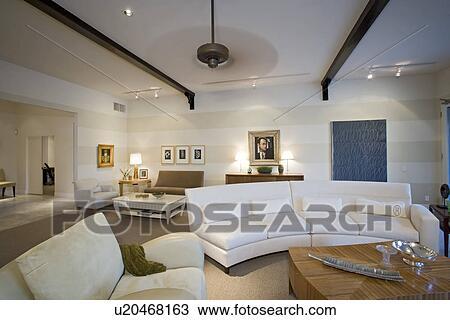 Luxus, Inneneinrichtung, Wohnzimmer