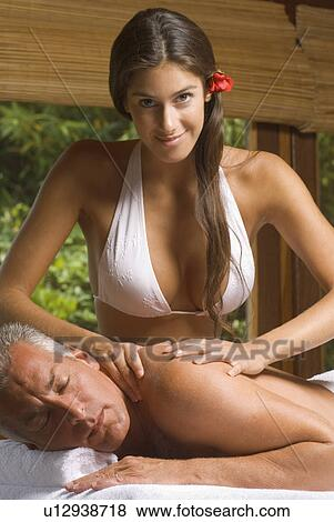 Mature adult massage