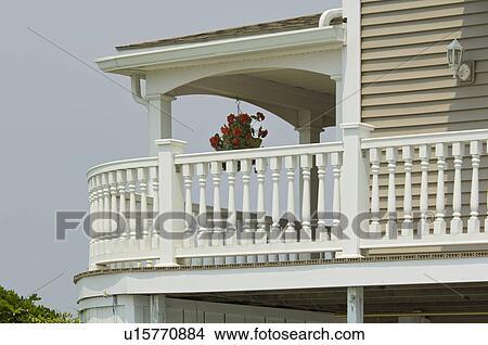 archivio fotografico vista da esterno portico