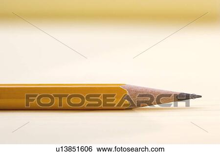 stock images of one sharpened pencil u13851606 search stock