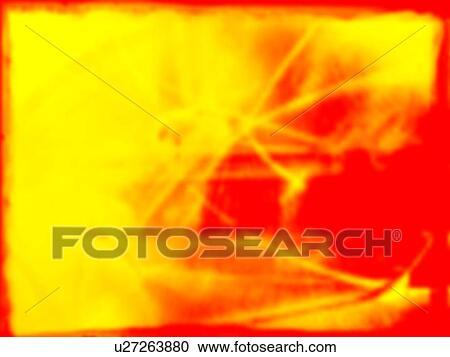 Stock Photography of Yellow and red splotches of color Yellow and ...