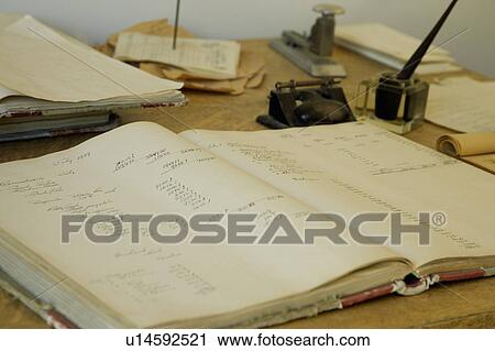 Stock Photography Antique Office Supplies Fotosearch Search Photos Pictures Prints