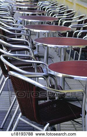 Urban, Table, Tables, Chair, Chairs, Sidewalk Cafe, Pavement Cafe
