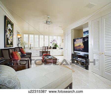 Immagine - contemporaneo, bianco, soggiorno u22315387 - Cerca ...