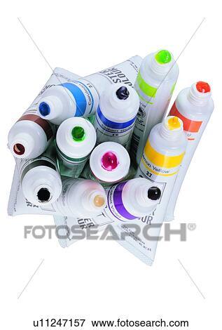 Foto - colorante, acuarela, pintura, pigmento, arte, artístico ...