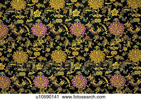 Motif Wallpaper Cloth Pattern Chinese Cloths